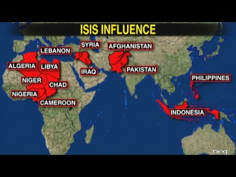 isis influence